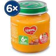 Hami Hovězí na zelenině 6× 125 g - Příkrm