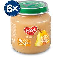 Hami První lžička Přesnídávka Hruška 6× 125 g - Příkrm