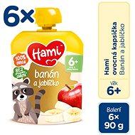 Hami Banán a jablíčko 6× 90 g