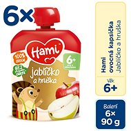 Hami Apple and Pear 6 × 90g - Baby Food