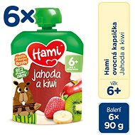 Hami Jahoda a kiwi 6× 90 g