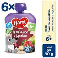 Hami Forest Fruit with Yogurt 6 × 90g - Baby Food