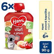 Hami Višeň a jahoda 6× 90 g