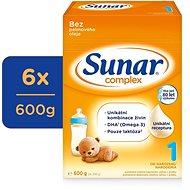 Sunar Complex 1 Počáteční kojenecké mléko 6× 600 g - Kojenecké mléko