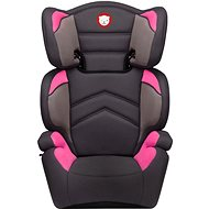 LIONELO LARS Plus 15–36 Kg Candy Pink - Autosedačka