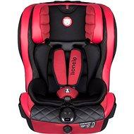 LIONELO ADRIAAN Leather ISOFIX 9–36 Kg Red - Autosedačka