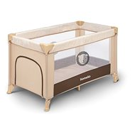 LIONELO ADRIAA Beige Stripes - Travel Bed