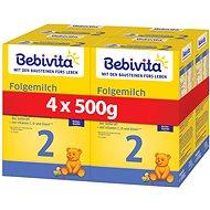 BEBIVITA 2 Pokračovací kojenecká výživa 6m+  4× 500 g