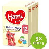 Hami Batolecí mléko 12+ 3× 600 g - Kojenecké mléko