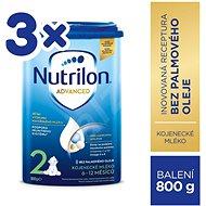Nutrilon 2 Pokračovací mléko 3× 800 g - Kojenecké mléko