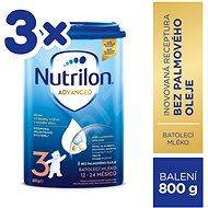 Nutrilon 3 Batolecí mléko 3× 800 g - Kojenecké mléko