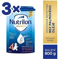 Nutrilon 4 Batolecí mléko 3× 800 g - Kojenecké mléko
