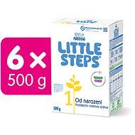 LITTLE STEPS 1 počáteční mléko 6× 600 g - Kojenecké mléko