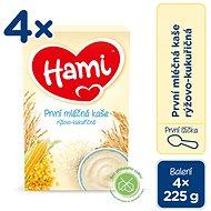 Hami First Spoon Rice-Corn Porridge 4× 225g - Milk pudding