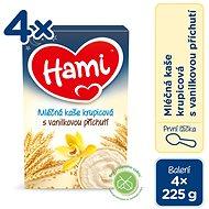Hami First Spoon Semolina Porridge 4× 225g - Milk pudding