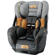 NANIA ERIS Premium 0–25 kg Denim Grey - Autosedačka
