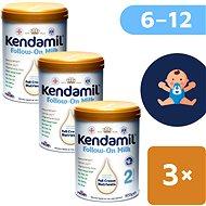 Kendamil pokračovací mléko 2 DHA+  (3× 900 g) - Kojenecké mléko