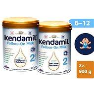 Kendamil pokračovací mléko 2 DHA+  (2× 900 g) - Kojenecké mléko