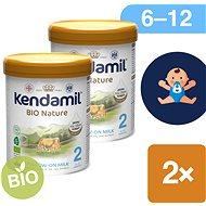 Kendamil pokračovací BIO mléko 2 DHA+  (2× 800 g) - Kojenecké mléko
