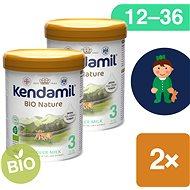 Kendamil batolecí BIO mléko 3 DHA+  (2× 800 g) - Kojenecké mléko