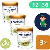Kendamil batolecí BIO mléko 3 DHA+  (3× 800 g)