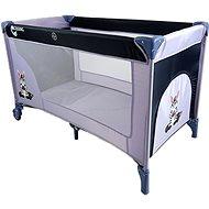 COSING ADAM - Zebra Grey - Travel Bed