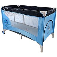 COSING ADAM with Adjustable Positions - Dolphin Blue - Travel Bed