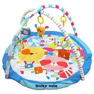 BABY MIX hrací deka s hrazdou - Veselá cesta - Hrací deka