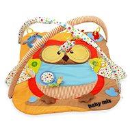 BABY MIX Hrací deka s hrazdou - Sova - Hrací deka