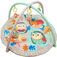 BABY MIX Hrací deka s hrazdou - Sovičky - Hrací deka
