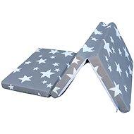 COSING Skládací matrace 6 cm - Hvězdy - Matrace do postýlky