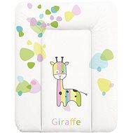 CEBA Baby Podložka na komodu měkká 50 × 70 cm - Žirafa - Přebalovací podložka