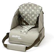 ASALVO Booster ANYWHERE stars beige - Dětské sedátko