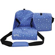 ASALVO Booster ANYWHERE stars blue - Dětské sedátko
