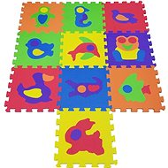 COSING EVA Puzzle podložka - Zvířátka (10 ks) - Hrací deka