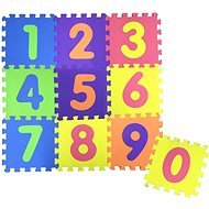COSING EVA Puzzle podložka - Čísla (10 ks) - Hrací deka
