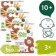 Good Gout BIO Kakaová kolečka 3× 70 g  - Sušenky pro děti