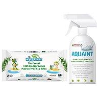 AQUAINT Gift Set 500ml + HAPPY PLANET Wet Wipes - Gift Set