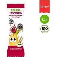 Freche Freunde Organic Fruit Bar - Banana, Grape and Black Rowan 12× 23g - Cookies for Kids