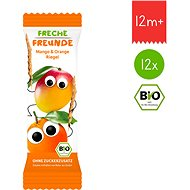 Freche Freunde Organic Fruit bar - Mango and Orange 12× 23g - Cookies for Kids