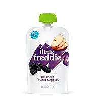 Little Freddie Sušené švestky s jablky  6× 100 g