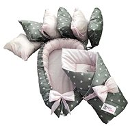 BabyTýpka Stars pink sada S - Startovací sada pro miminko