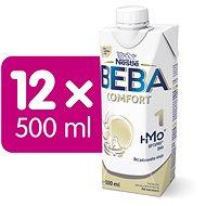 BEBA COMFORT 1 HM-O Liquid 12× 500 ml - Kojenecké mléko
