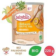BABYBIO Zeleninová nemléčná BIO kaše s quinou, mrkví a kukuřicí 220 g - Nemléčná kaše