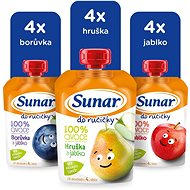 Sunar Hand mix cardboard 12 × 100 g - Baby Food