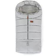 Petite&Mars fusak nastavitelný 3v1 Jibot Steel Grey - Fusak do kočárku