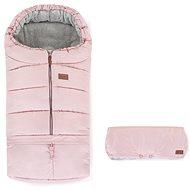 Petite&Mars Fusak Jibot 3v1 + rukávník Jinja Flamingo Pink - Fusak do kočárku