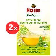 HOLLE Bio Čaj pro kojící maminky 2× 30 g