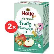 HOLLE Bio Ovocný Flamingo čaj s fenyklem  2× 30 g - Dětský čaj