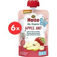 HOLLE Apple Ant  BIO jablko banán hruška 6× 100 g